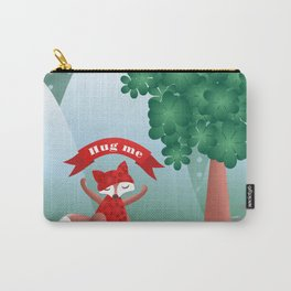 The fox say ''Hug Me'' Carry-All Pouch
