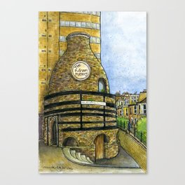 Fulham Pottery SW6 Canvas Print