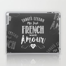 French Lessons Laptop & iPad Skin