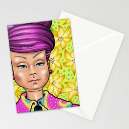 Mily with Lillies Stationery Cards