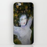 valentina iPhone & iPod Skins featuring Valentina by Cdill