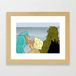 When He Came Back Inga Was With A Seaman Framed Art Print