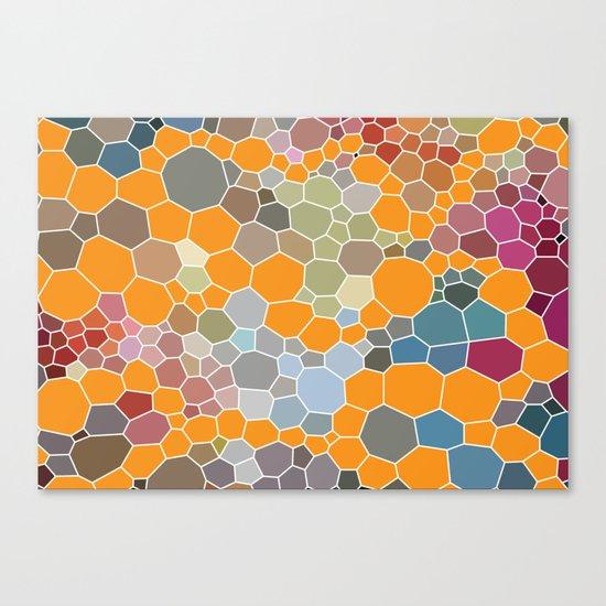 Exprimental Pattern XXIII Canvas Print