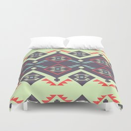 Tribal space Duvet Cover