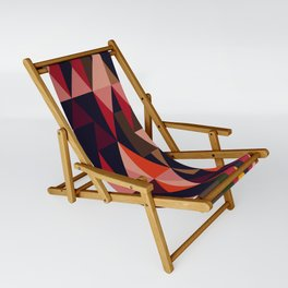 Vintage vibes_in warm hues Sling Chair
