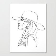 Lady Ga Canvas Print