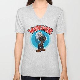 Witcher Popeye Unisex V-Neck