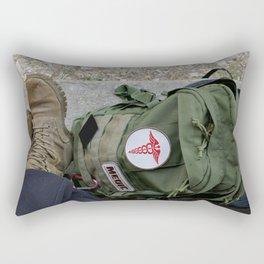 Packed Rectangular Pillow
