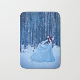 Snow Dancing Bath Mat