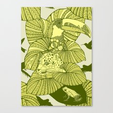 The Amazon Canvas Print