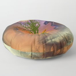 Mobius strip and other things Floor Pillow