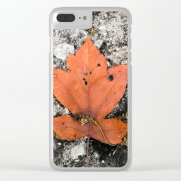 Mabon Clear iPhone Case