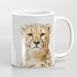Cheetah - Colorful Coffee Mug