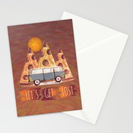 Lost Pizza Stationery Cards