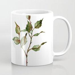 Loose Watercolor Rosebuds Coffee Mug