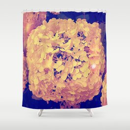 Secret Garden | Hydrangea Snowball Shower Curtain