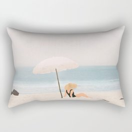 Beach Morning II Rectangular Pillow