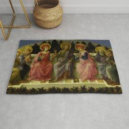 """Fra Filippo Lippi """"Seven Saints"""" Rug"""
