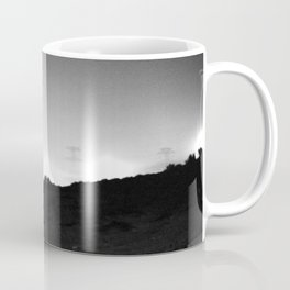 Electric View from the Desert Coffee Mug