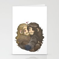hug Stationery Cards featuring Hug by ScottyTheCat