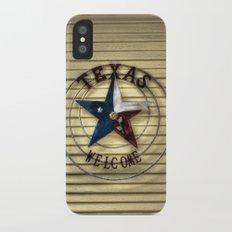 Texas Welcome iPhone X Slim Case