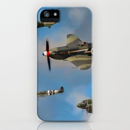 Vintage Aircraft iPhone Case