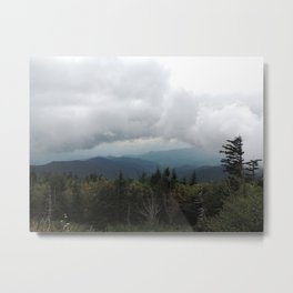 Smoky Mountains, Clingmans Dome Metal Print