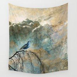 HEAVENLY BIRD II Wall Tapestry