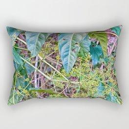 Budding in the rainforest Rectangular Pillow