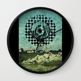 Landscaping Wall Clock
