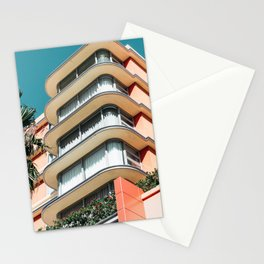 Neon Highrise Stationery Cards