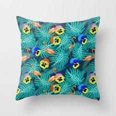 Summer tropical I Throw Pillow