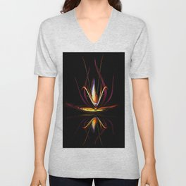 Abstract perfection - Magical Light and Energy Unisex V-Neck