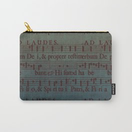 Music Sheet Carry-All Pouch