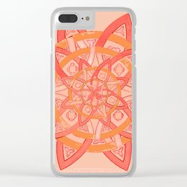celtic tones Clear iPhone Case