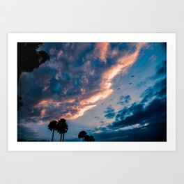 Night Begins To Fall Art Print