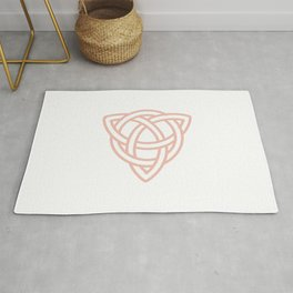 Triquetra or Celtic Knot Rug