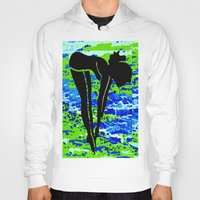diver Hoodies featuring Diver by Raffaella315