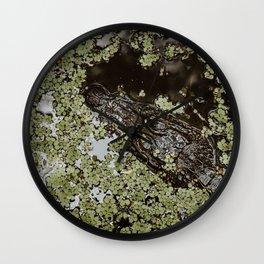 Jean LaFitte Alligator Wall Clock