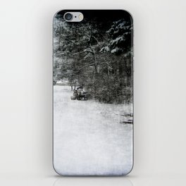Along The Line iPhone Skin