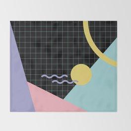 Memphis Pattern 7 - 80s - 90s - Retro Throw Blanket