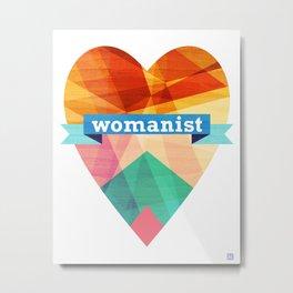 Womanist Metal Print