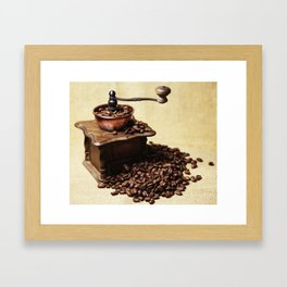 coffee grinder Framed Art Print