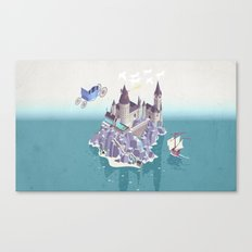 Hogwarts series (year 4: the Goblet of Fire) Canvas Print