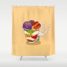Halohalo Toki Shower Curtain