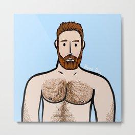 Beard Boy: Arjen Metal Print