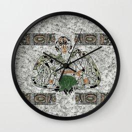 Rapa Nui Wall Clock
