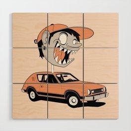Gremlin Boy Wood Wall Art