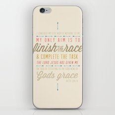 Acts 20:24 iPhone & iPod Skin