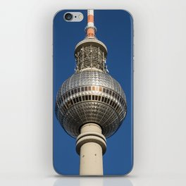 Blue Berlin Tv Tower iPhone Skin